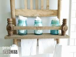 diy repurposed furniture. Reclaimed Barn Wood Shelf On Repurposed Rocking Chair By Prodigal Pieces | Www.prodigalpieces. Diy Furniture Y