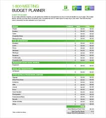 Free Budget Download Budget Planner Template 9 Free Word Excel Pdf Documents
