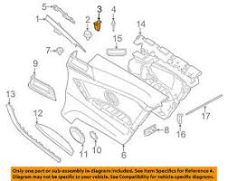 bmw oem 14 16 428i interior winshield pillar trim clamp image is loading bmw oem 14 16 428i interior winshield pillar