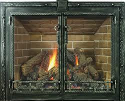 stoll wood fireplace doors 4