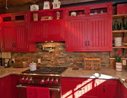 Red Country Kitchen Decorating Ideas Find This Pin And More On Kitchens With Models Design
