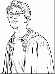 Harry Potter Coloring Pages For Kids Printable Coloring Page For Kids