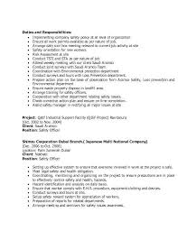Safety Officer Resume Sample Police Resume Resume For Police Officer New Safety Officer Resume