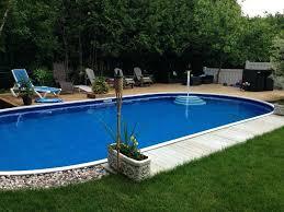 semi inground pool ideas. Semi Inground Pool Landscape Ideas Pools .