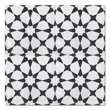 Black And White Pattern Tile Fascinating Tile Home Guide