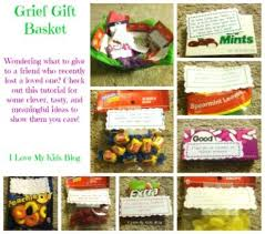 diy grief gift basket tutorial what to give a friend when they lose a loved one