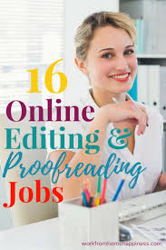 17 best ideas about online writing jobs writing 16 places to remote editing and proofreading jobs