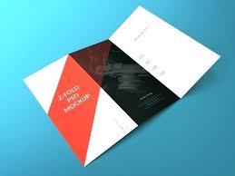 Z Fold Brochure Template Word Illustrator For Mac Templates