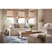 mayfair fabric 1 piece slipcovered chair in linen pearl amazing home depot office chairs 4 modern