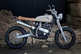 i can t get enough of these street trackers motorcycles