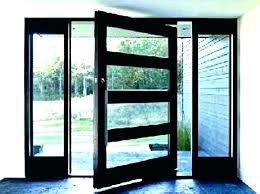 black glass front door glass front doors modern entrance doors residential contemporary glass entry door exterior