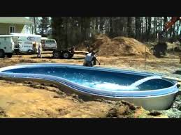 can a fiberglass pool and patio be installed in one day