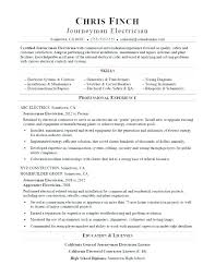 Journeyman Electrician Resume Journeyman Electrician Journeyman ...