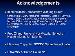 British Columbia's Immunization Competency Program - ppt download