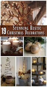 Here& a collection of Rustic Christmas Decorations: Brown and earthy are  not your usual Christmas theme, but this year, try something new with the  rustic ...