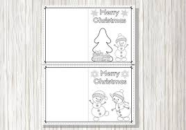So these are perfect for teens, ambitious tweens. Printable Christmas Cards For Kids To Color