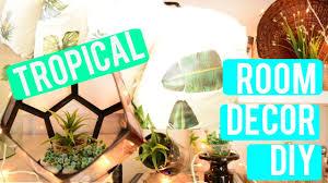 Tropical Bedroom Decor Tropical Room Decor Diy Youtube