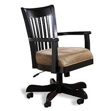 antique black mission wood office chair view images antique office chair