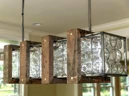 homemade outdoor chandelier outdoor