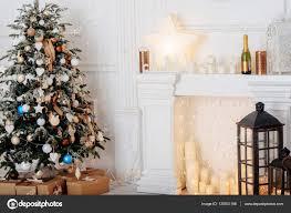 Weihnachtsdeko Weihnachten Stilvoll Stockfoto