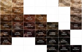 Olia Hair Color Chart Olia Color Shine Belle Color Hair Color Chart Brown