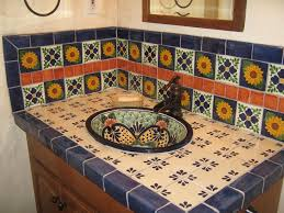 Mexican Tile Kitchen Kitchen Mexican Backsplash Tiles Kitchen Dusty Coyote Mexican