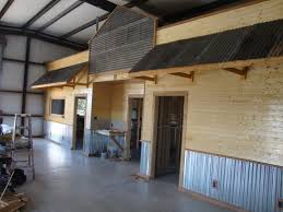 interior metal wall panels garage