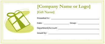 Gift Card Word Template Gift Voucher Template Word Magdalene Project Org