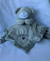 matalan teddy bear comforter soft toy
