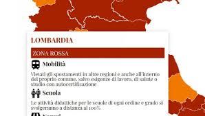 Lombardia zona rossa da lunedì 15 marzo: spostamenti, scuole e negozi, ecco  tutte le regole - GeoNews.me