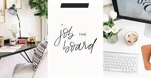 The Job Board | The Everygirl