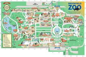 brookfield zoo map. Interesting Zoo Brookfield Zoo Map Inside