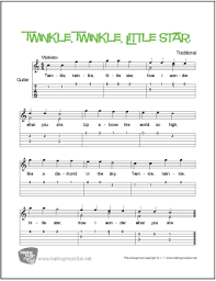 Famous pop songs for classical guitar 2 (arr. Twinkle Twinkle Little Star Free Beginner Guitar Sheet Music Tab