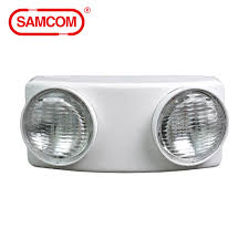 Samcom Emergency Light Super Bright 1 5w Led Twin Spot Emergency Lighting Emergency Lights Luminaire View Emergency Lighting Emergency Lights Samcom Product Details From