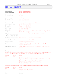 how to write a resume solution for how to for dummies a written cv doc mittnastaliv