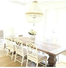 white dining room chairs warm wood table beaded chandelier look at design off and full size
