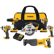 home depot dewalt drill. dewalt 20-volt max lithium-ion cordless combo kit (6-tool)-dck621d2 - the home depot dewalt drill