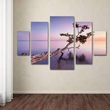trademark fine art water tree xv by moises levy 5 panel wall art set