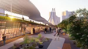 Suspended Walkway Design Lwk Partners Designs Bridge For Dubai Inspired By Hanging