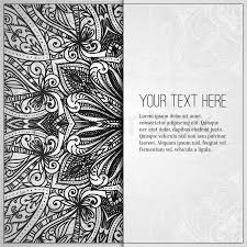 vine vector pattern hand drawn abstract background retro banner can be used as book cover invitation wedding card abstract fl border
