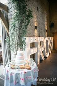 light up letters at weddings the wedding cut