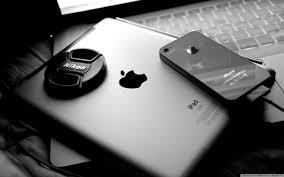 Apple Inc Nikon Ipad Monochrome Iphone 4 2560x1600 Wallpaper