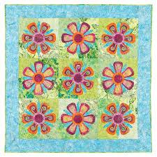 GO! Fantasy Flowers Quilt Pattern  AccuQuilt  & Fantasy Flowers Quilt Pattern (PQ10196i) ... Adamdwight.com