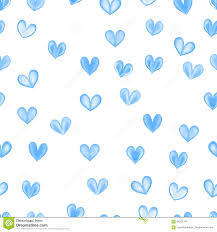 blue heart background. Interesting Blue Heart Retro Seamless Pattern Vintage Romantic Background In Blue Background