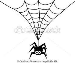 かわいい 蜘蛛の巣