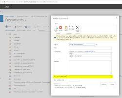 CSIO-1098] [CF] SharePoint List Macro - Edit meta data after upload ...