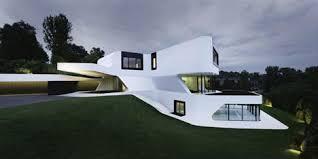 Unique Modern Houses Complex But Contextual Unique Curved Modern House