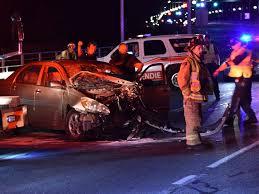 Six Injured In Head On Crash On Champlain Bridge Suv Hangs Off Edge