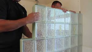 Glass For Bathroom How To Install A Glass Block Shower Wall Enclosure In A Bathroom