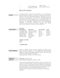Resume Examples Fascinating 10 Samples Free Download Resume